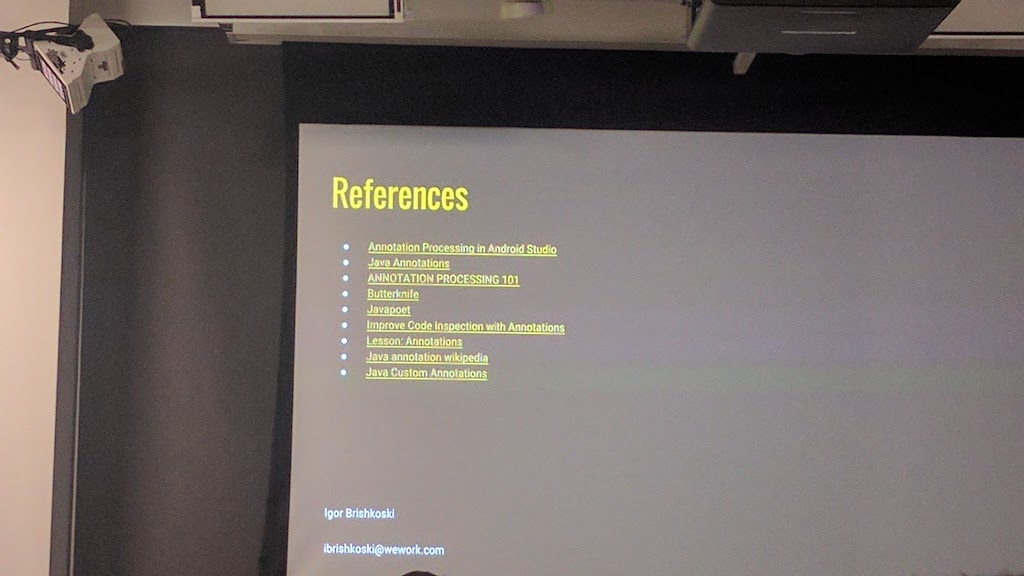References about Annotations